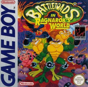 Battletoads in Ragnarock's World per Game Boy