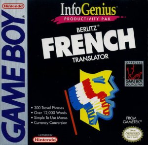 Berlitz French Translator per Game Boy