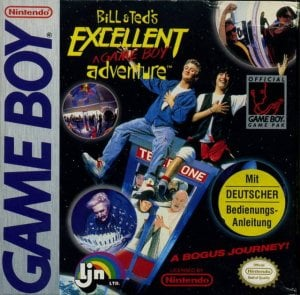 Bill & Ted's Excellent Adventure per Game Boy