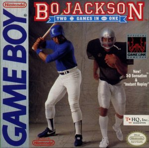 Bo Jackson's Hit and Run! Baseball and Football per Game Boy