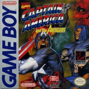Captain America & the Avengers per Game Boy