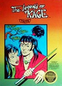 The Legend of Kage per Nintendo Entertainment System