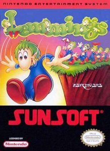 Lemmings per Nintendo Entertainment System