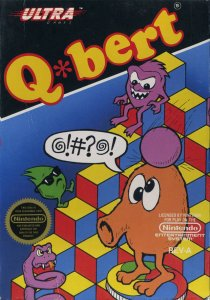 Q*bert per Nintendo Entertainment System