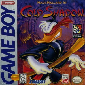 Donald Duck Starring in Maui Mallard per Game Boy