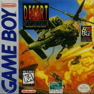 Desert Strike - Return to the Gulf per Game Boy