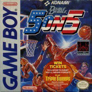 Double Dribble per Game Boy