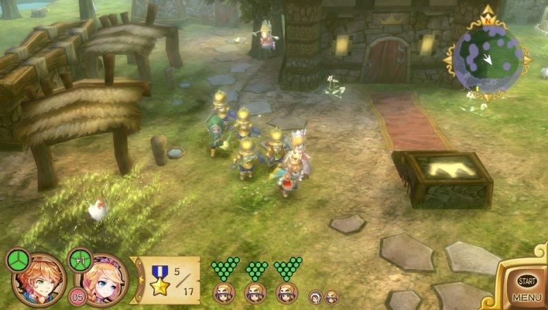 Konami pubblicherà la versione PSVita di Little King's Story in Europa