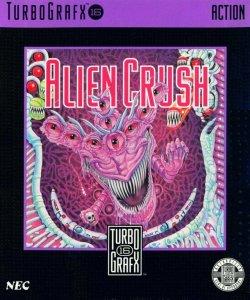 Alien Crush per PC Engine