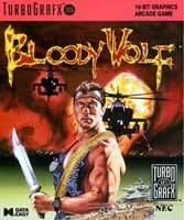 Bloody Wolf per PC Engine