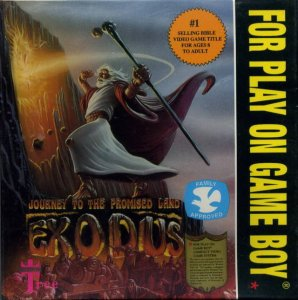Exodus: Journey to the Promised Land per Game Boy