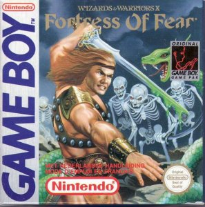 Fortress of Fear: Wizards & Warriors X per Game Boy