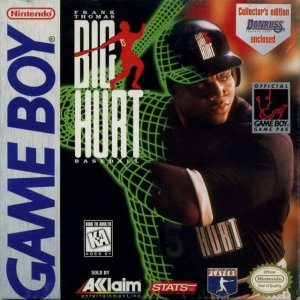 Frank Thomas' Big Hurt Baseball per Game Boy