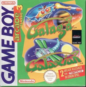 Galaga / Galaxian per Game Boy