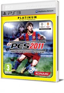 Pro Evolution Soccer 2011 (PES 2011) per PlayStation 3