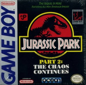 Jurassic Park 2: The Chaos Continues per Game Boy