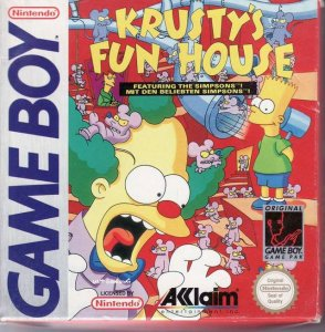Krusty's Super Fun House per Game Boy