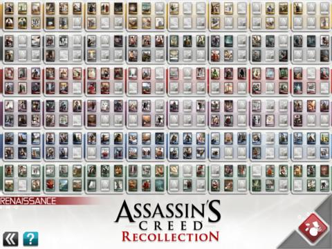 Assassin's Creed Recollection è disponibile da oggi su App Store