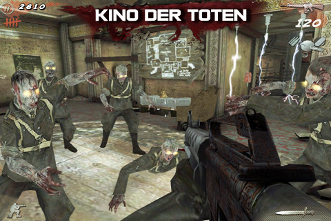 Call of Duty: Black Ops Zombies disponibile su App Store