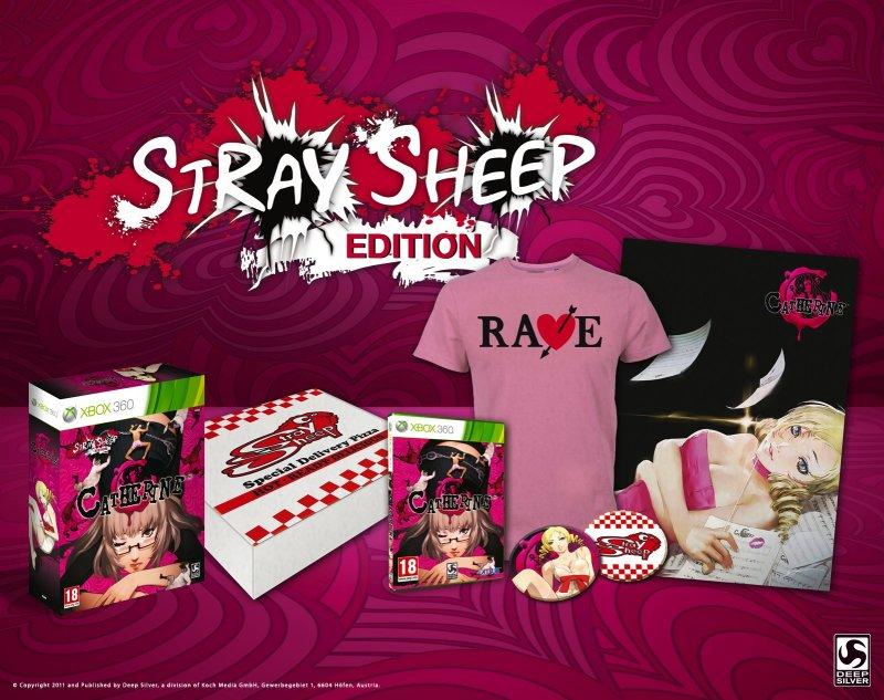 """Catherine - Edizione speciale """"Stray Sheep"""" anche in Europa"""