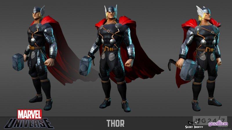 Marvel Universe Online - Il modello di Iron Man