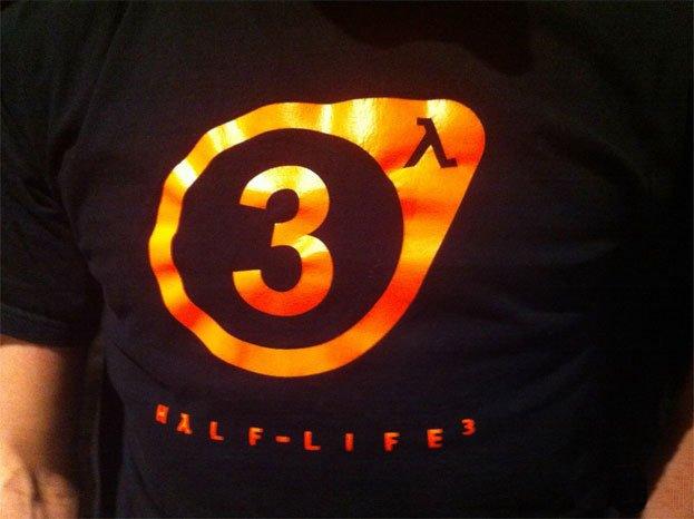 Avvistato il logo di Half-Life 3... su una maglietta