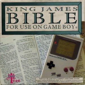 King James Bible per Game Boy