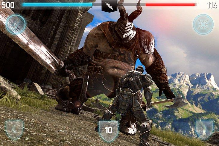 Infinity Blade II aggiornato per il nuovo iPad