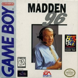 Madden NFL 96 per Game Boy