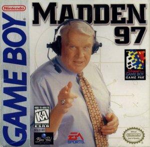 Madden NFL 97 per Game Boy