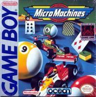 MicroMachines per Game Boy
