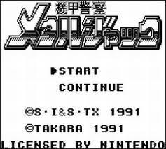 Metal Jack per Game Boy