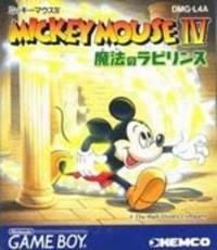 Mickey Mouse IV: Mahou no Labyrinth per Game Boy