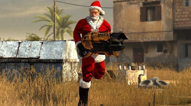 Serious Sam 3 BFE - Un costume da Babbo Natale
