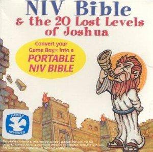 NIV Bible & the 20 Lost Levels of Joshua per Game Boy
