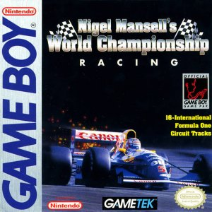 Nigel Mansell's World Championship per Game Boy