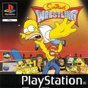 The Simpsons Wrestling per PlayStation