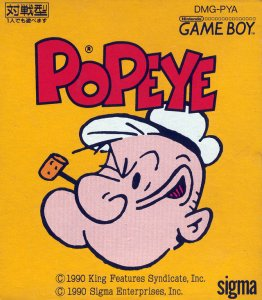 Popeye per Game Boy