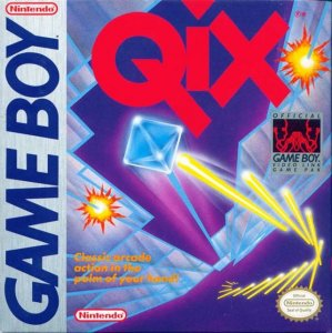 Qix per Game Boy