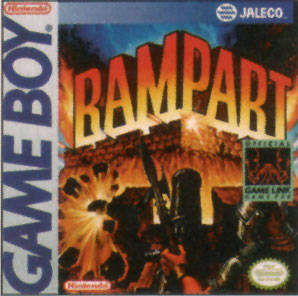 Rampart per Game Boy
