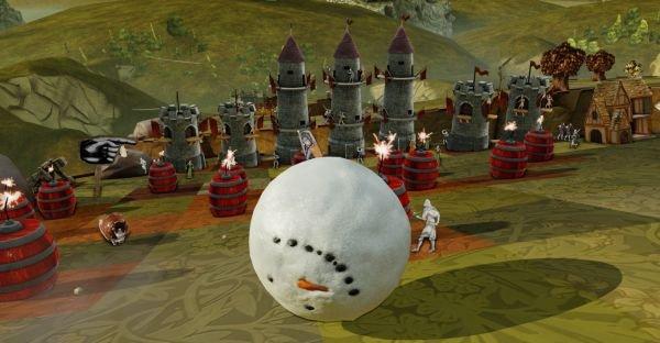 Una palla di neve per Rock of Ages