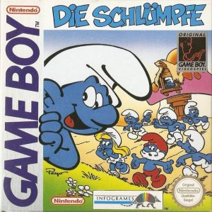 The Smurfs per Game Boy