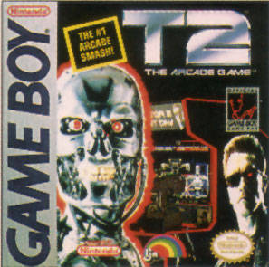 T2: The Arcade Game per Game Boy