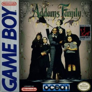 The Addams Family per Game Boy