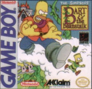 The Simpsons: Bart and the Beanstalk per Game Boy