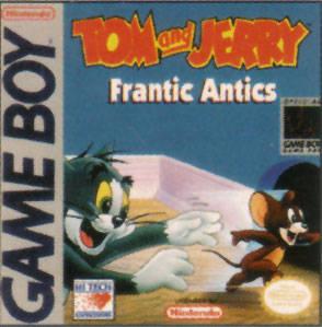 Tom & Jerry: Frantic Antics per Game Boy