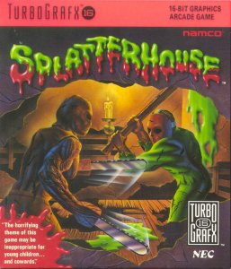 Splatterhouse per PC Engine