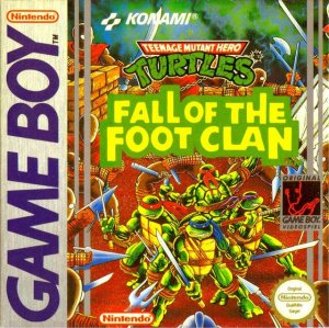 Teenage Mutant Ninja Turtles: Fall of the Foot Clan per Game Boy