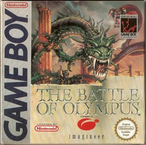 The Battle of olympus per Game Boy