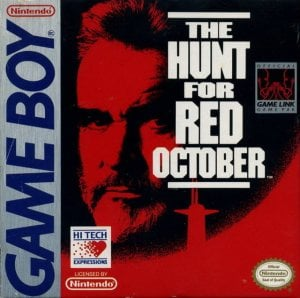 The Hunt for Red October per Game Boy